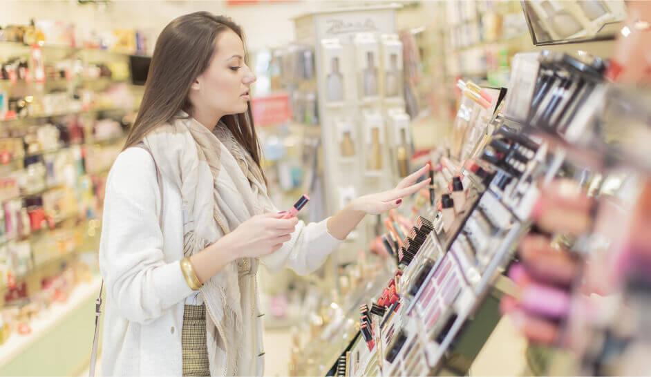 Productos de belleza con inteligencia financiera